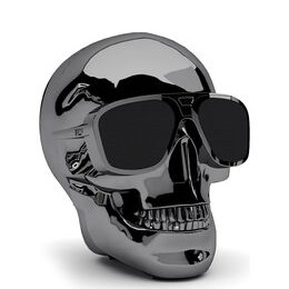 JARRE  AeroSkull XS + Portable Wireless Speaker - Chrome Black Reviews