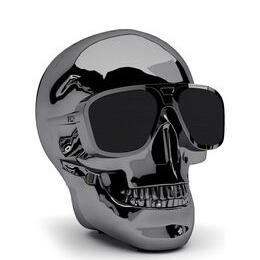 JARRE  AeroSkull XS + Portable Wireless Speaker - Chrome Black Reviews
