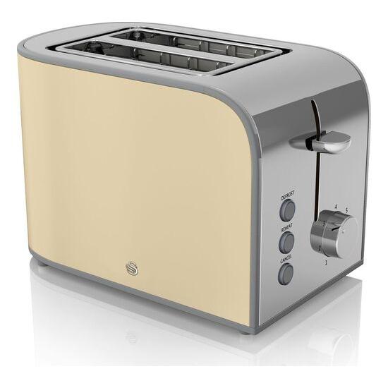 SWAN  Retro ST17020CN 2-Slice Toaster - Cream
