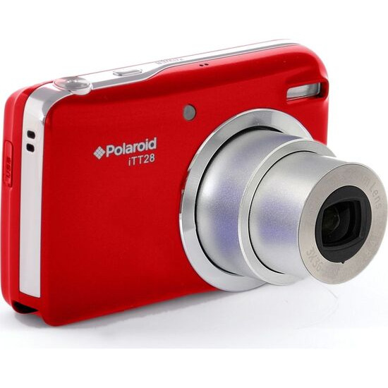 POLAROID ITT28-RED-UK Superzoom Compact Camera - Red