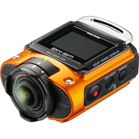RICOH WG-M2 4K Ultra HD Action Camera - Orange