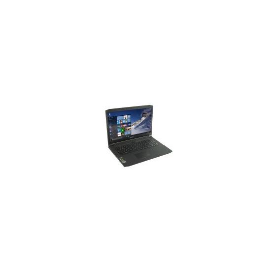 StormForce Velocity Core i7-6700HQ 16GB 1TB + 256GB SSD GeForce GTX 960 DVD-RW 17.3 Inch Windows10 Gaming Laptop