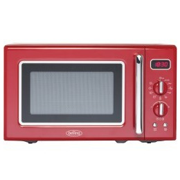 Belling FMR2080S 20 Litre 800W Freestanding Microwave Oven Red Reviews