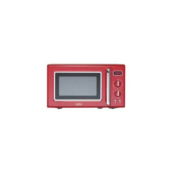 Belling FMR2080S 20 Litre 800W Freestanding Microwave Oven Red