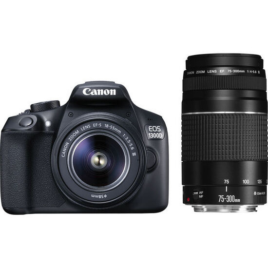 EOS 1300D Digital SLR with 18-55mm Lens