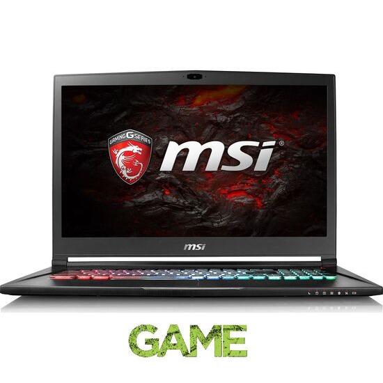 MSI Stealth Pro GS73VR 6RF 066UK 17.3 Gaming Laptop Black