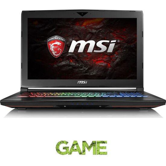 MSI GT62VR 6RE Dominator Pro 15.6 Gaming Laptop Black