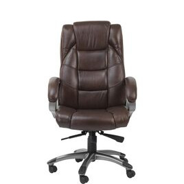 ALPHASON  Northland Leather Reclining Executive Chair - Brown Reviews