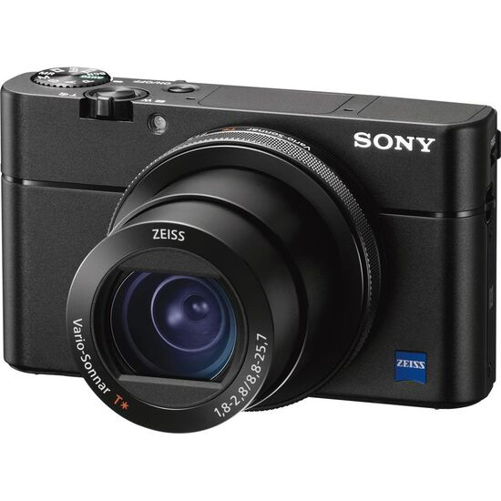 SONY DSC-RX100M5 High Performance Compact Camera - Black