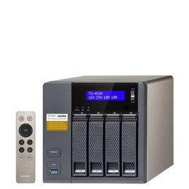 QNAP TS-453A-4G 8TB (4 x 2TB SGT-IW) 4 Bay NAS Unit with 4GB RAM Reviews