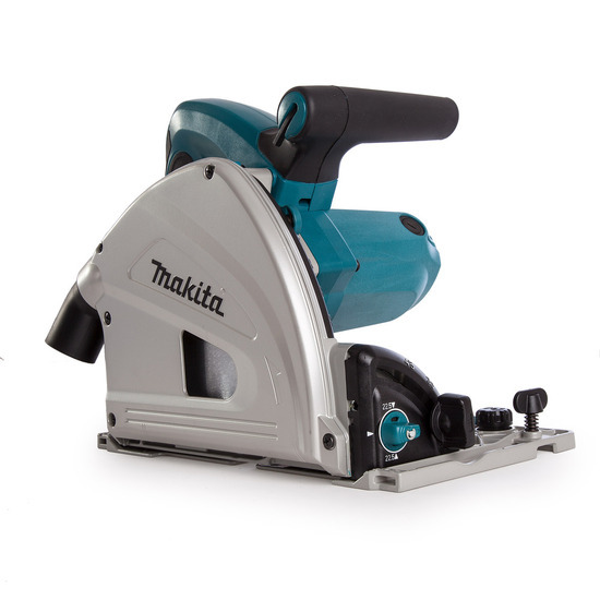 Makita SP6000J1 Plunge Cut Saw 165mm Blade with 2 Guide Rails and Connector 240V