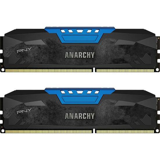 PNY Anarchy PC3-12800 DDR3 PC Memory - 2x4 GB DIMM RAM