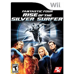 Photo of Fantastic Four: Rise Of The Silver Surfer (Wii) Video Game