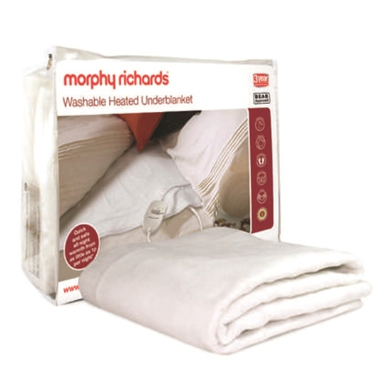 Morphy Richards 75174 Double Electric Blanket