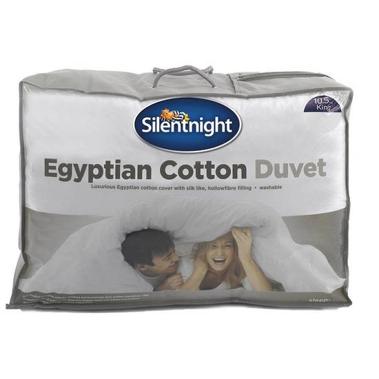 SilentNight Egyptian Cotton 13.5 tog duvet single