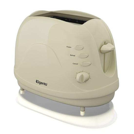 Elgento E20012B 2 Slice Toaster Black