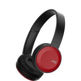 JVC  HA-S30BT-R-E Wireless Bluetooth Headphones - Red Reviews