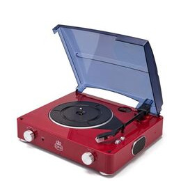 GPO  Stylo Turntable - Red Reviews