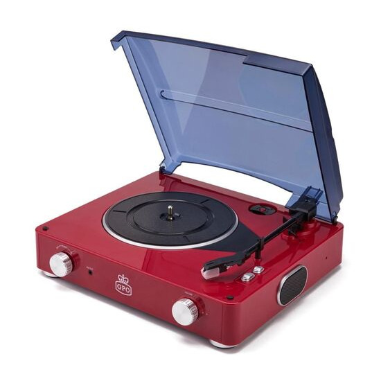 GPO  Stylo Turntable - Red