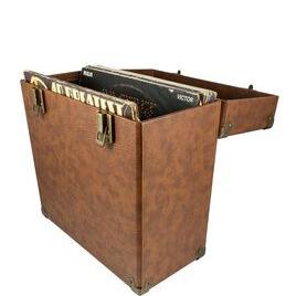 GPO  12 Vinyl Case - Brown Reviews