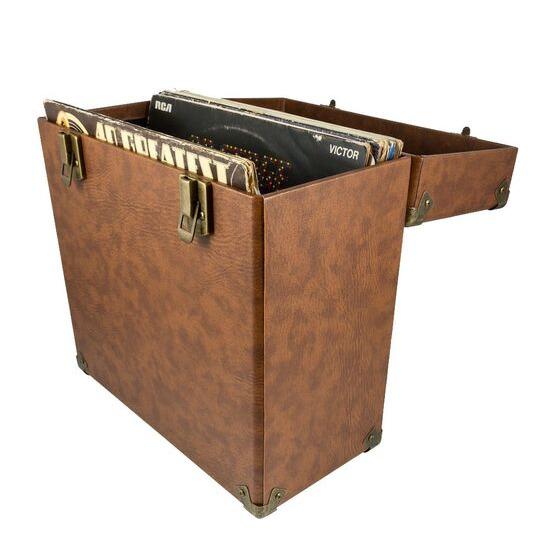 GPO  12 Vinyl Case - Brown