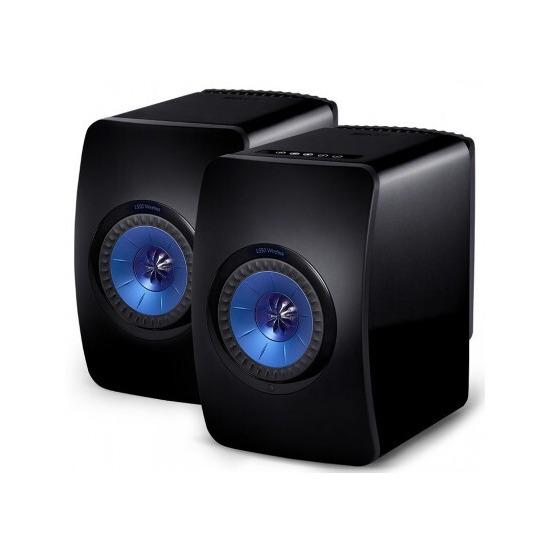 KEF LS50 Wireless Speakers Titainium