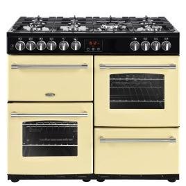 Belling Farmhouse 100DFT 100cm Dual Fuel Range Cooker Cream Reviews