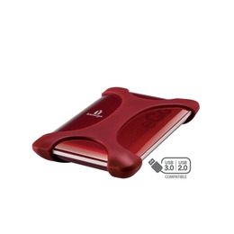 IOMEGA eGo Portable Hard Drive - 750GB, Ruby Red Reviews