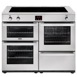Belling Cookcentre 110Ei Professional 110cm Electric Induction Range Cooker Stainless steel Reviews