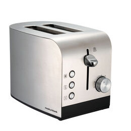 MORPHY RICHARDS Morphy Richards 44261 2-Slice Toaster - Stainless Steel & Black Reviews