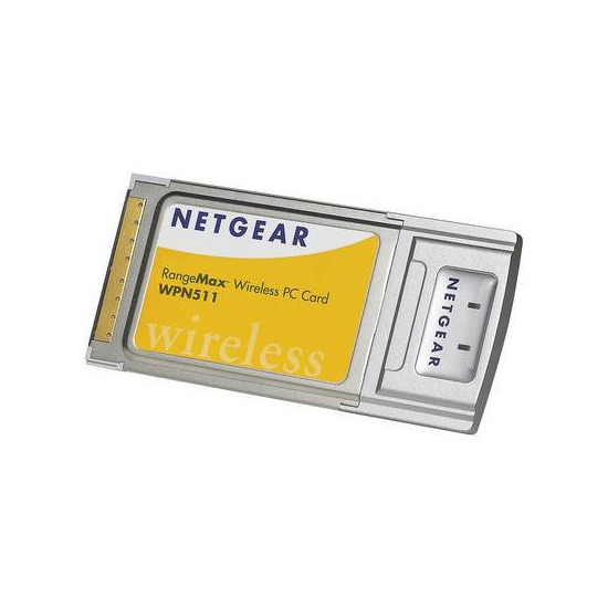 NETGEAR RANGEMAX PC CARD