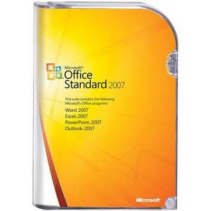 Photo of Microsoft Office 2007 Standard Edition Software