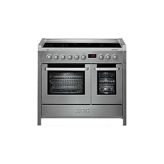 100cm Electric Ceramic Double Oven Range Cooker
