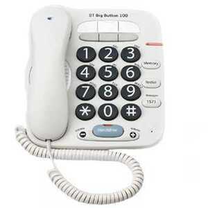Photo of BT Big Button 100 Landline Phone