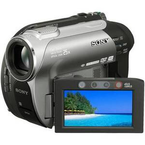 Photo of Sony DCR-DVD306 Camcorder