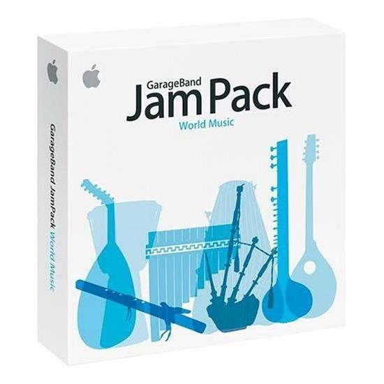 Apple Garageband Jampack World