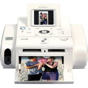 Photo of Canon Pixma Mini 220 Portable Printer Printer