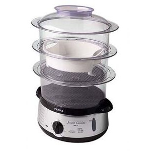Photo of Tefal 6616119 EASYSTORE CHROME 3T Steam Cooker