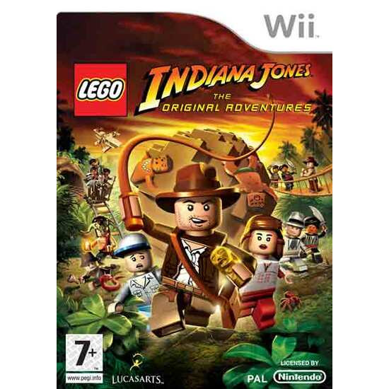 Lego Indiana Jones - The Original Adventures (Wii)