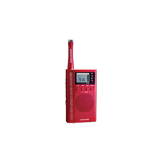 Eton Mini 300PE radio in Red