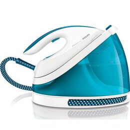 PHILIPS  PerfectCare Viva GC7037/27 Steam Generator Iron - Blue Reviews
