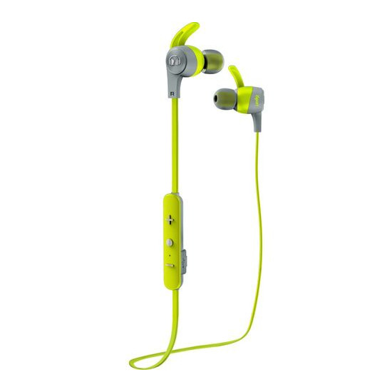 MONSTER iSport Achieve Headphones - Green