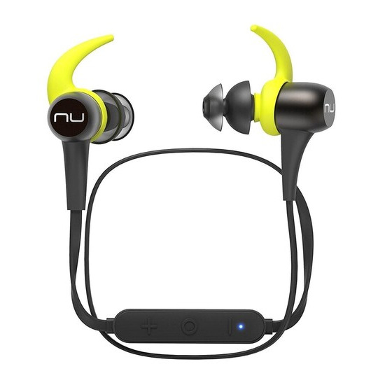 Optoma NuForce BE sport3-Gun Metal Finish Wireless Bluetooth In Ear Headphones