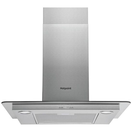 Hotpoint  PHFG7.5FABX Chimney Cooker Hood - Stainless Steel