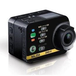 NILOX Evo 4K Ultra HD Action Camcorder - Black