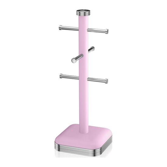SWAN  Retro Mug Tree - Pink