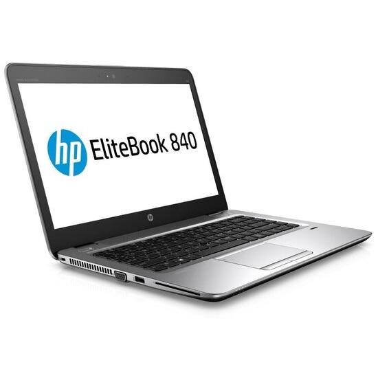 HP EliteBook 840 G3 Laptop Intel Core i7-6500U 2.5GHz 8GB DDR4 512GB SSD 14 FHD 1920 x 1080 No-DVD Intel HD Webcam Bluetooth Windows 10 Pro