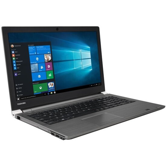 Toshiba Tecra A50-C-218 Laptop Intel Core i7-6500U 2.5GHz 16GB RAM 256GB SSD 15.6 FHD DVDRW Intel HD WIFI Webcam Bluetooth Windows 7 / 10 Pro