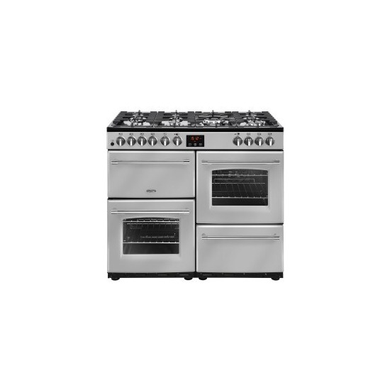 Belling Farmhouse 100DFT 100cm Dual Fuel Range Cooker