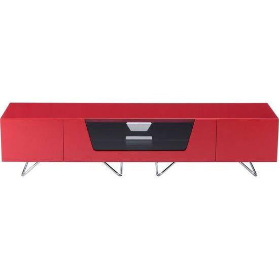 Alphason Chromium 2 1600 TV Stand - Red